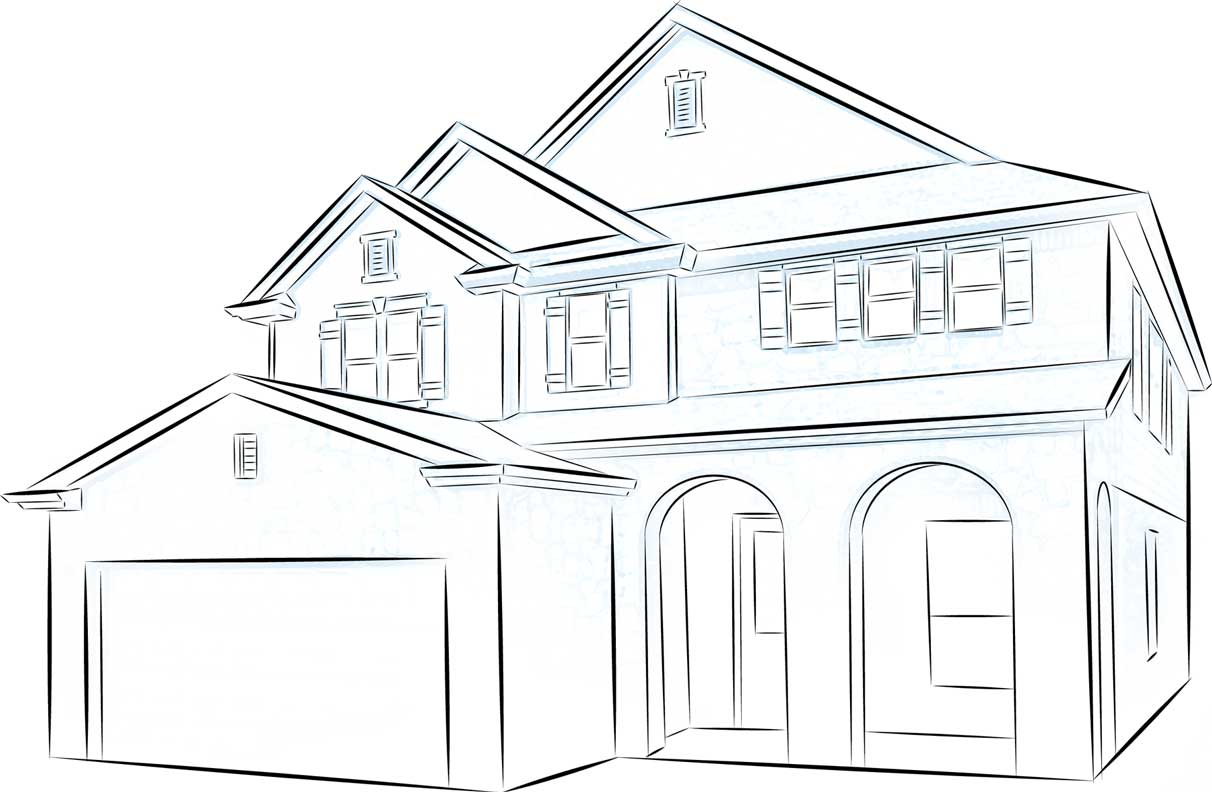 House drawing pictures to pin on pinterest pinsdaddy for House drawing easy